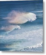 Riding The Waves Metal Print