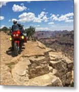 Riding The Wedge Overlook Metal Print