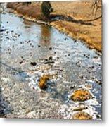 Riffles In The River Metal Print