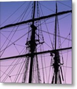 Rigged And Ready Metal Print