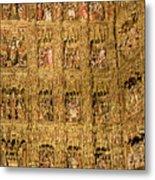 Right Half - The Golden Retablo Mayor - Cathedral Of Seville - Seville Spain Metal Print