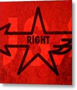 Right Wing Metal Print