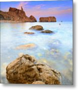Rijana Beach Mediterranean Sea Metal Print