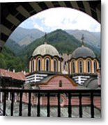 Rila Monastery Metal Print