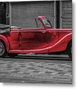 Riley Rmd 1950 Drophead Coupe Metal Print
