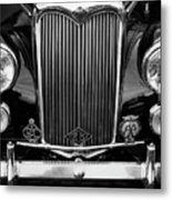 Riley Saloon Car - Vintage Metal Print