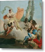 Rinaldo Enchanted By Armida Metal Print