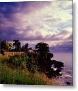Rincon Lighthouse Puerto Rico Metal Print by George Oze