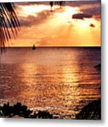 Rincon Sunset Metal Print by Michael  Cryer