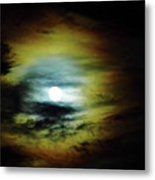 Ring Around The Moon Metal Print