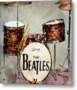 Ringo's Drums Metal Print