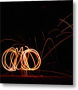 Rings Of Fire Metal Print