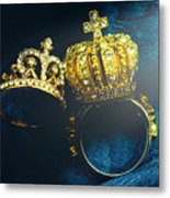 Rings Of Nobility Metal Print