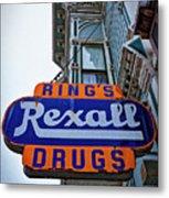 Ring's Rexall Drugs  Metal Print
