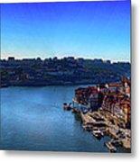 Rio Douro Metal Print