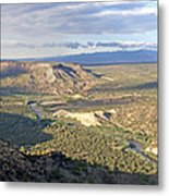 Rio Grand Near White Rock Metal Print