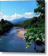 Rio Grande And Blue Mountain Metal Print