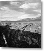 Rio Grande Gorge Birdge Metal Print