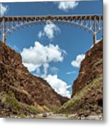 Rio Grande Gorge Bridge Metal Print
