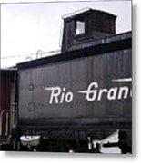 Rio Grande Rail Cars Metal Print