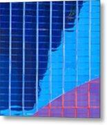Rio Reflection Metal Print