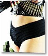 Riot Gear Metal Print