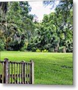 Rip Van Winkle Gardens Louisiana  Metal Print