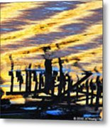 Ripple Effects Of The Day Metal Print