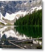 Rippled Mirror Metal Print