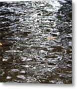 Rippled Reflection Metal Print
