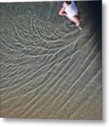 Ripples In The Water Metal Print