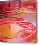 Ripples No.1 Metal Print
