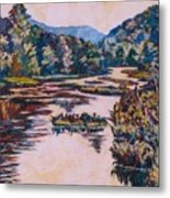 Ripples On The Little River Metal Print