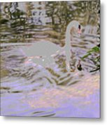 Ripples Subdued Metal Print