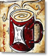 Rise And Shine By Madart Metal Print
