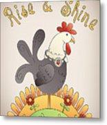 Rise And Shine-jp2836 Metal Print