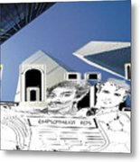 Stop Rise In Unemployment Metal Print