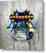 Rise The Obstacle Is The Road Metal Print