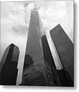 Risen Out Of The Rubble Metal Print