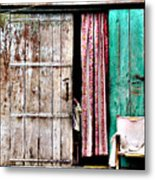Rishikesh Door Metal Print