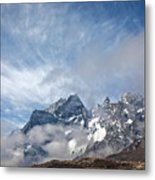 Rising Mountains Metal Print
