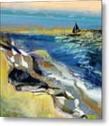 Rising Wind Metal Print