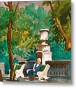 Rittenhouse Square Metal Print