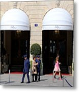 Ritz Hotel Paris Metal Print