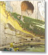 River Adventure Metal Print