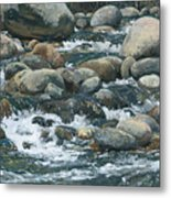 River At Sierra Subs Metal Print