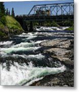 River Bridge Metal Print