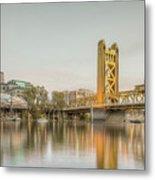 River City Waterfront Metal Print