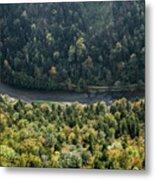 River Dunajec In Pieniny Mountains Metal Print