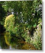 River Eea Cartmel Cumbria Metal Print